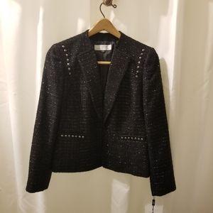 Tahari women's Black blazer jacket size 6
